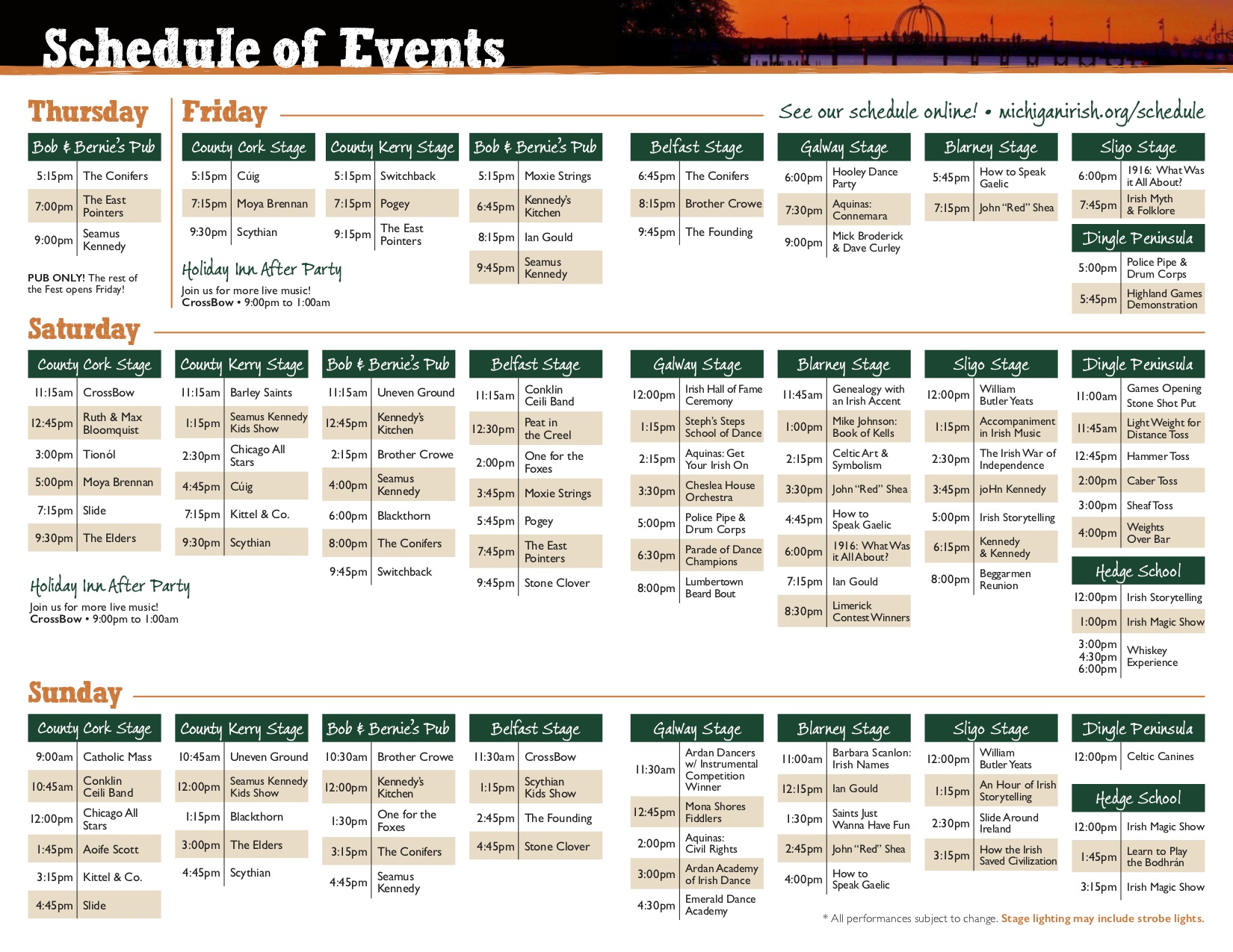 2018-schedule-1 - Michigan Irish Music Festival